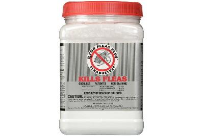 Flea buster powder