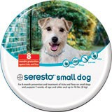 Seresta flea and tick collar