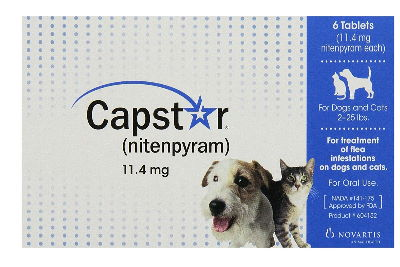 Capstar oral tablet for fleas